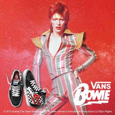 ed7b0832ae9270 Vans X David Bowie