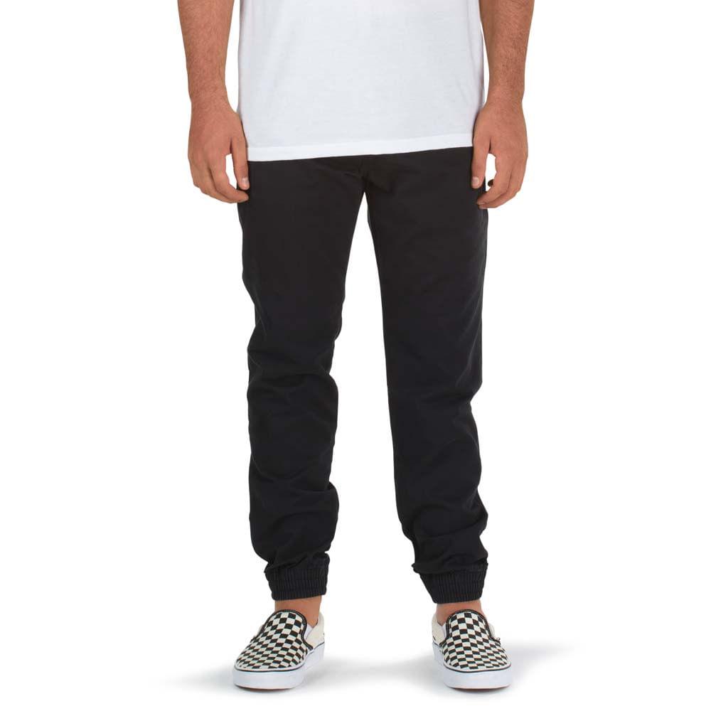 Black Pantalones Authentic Pantalones Jogger Authentic Vans pPxSqOf