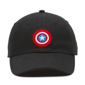 Gorra Vans X Marvel Captain Shield Black 95f21ea0706