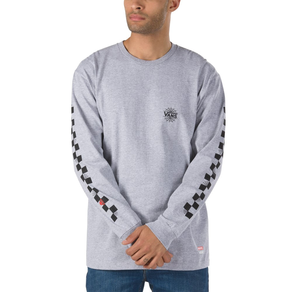 Vans VANS X MARVEL SPIDERMAN - Camiseta manga larga - athletic heather 6QWx1oW4
