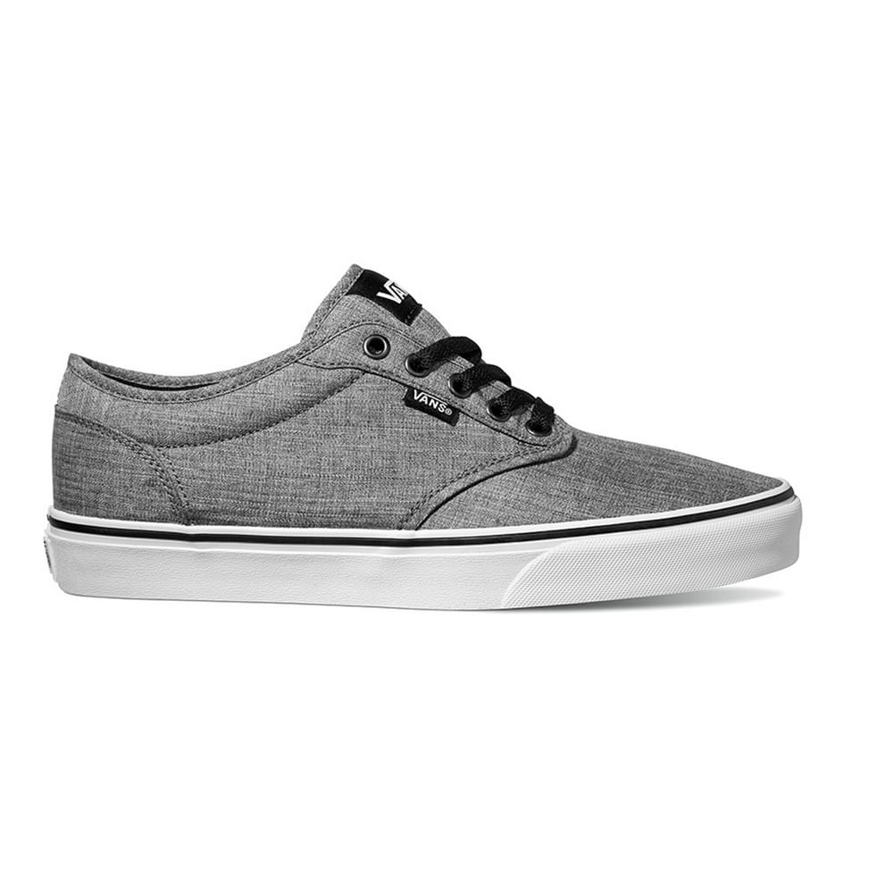 Zapatillas Atwood Rock Textile Black White - Vans 586a843c71b