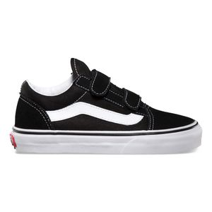 312680a12f1 Zapatillas Niño Old Skool V Black True White