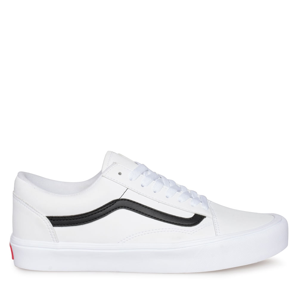 24cda3503 Zapatillas Old Skool Lite Classic Tumble (Classic Tumble) True White ...