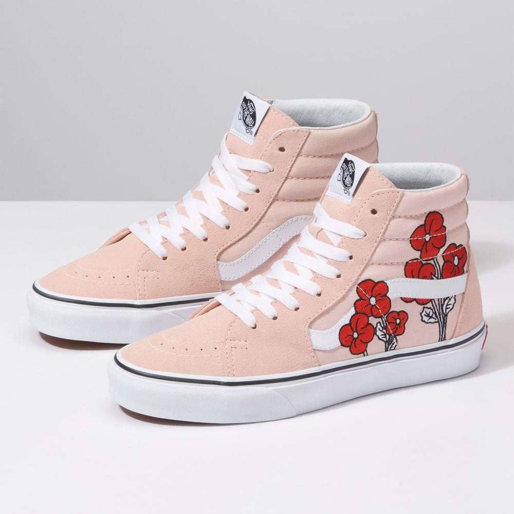 44fd6bfd70 Zapatillas Sk8-Hi Disney (Disney) Mickey Minnie Pink - Vans - Vans
