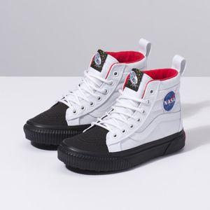 69347df19 Zapatillas Niño Sk8-Hi Mte x Space Voyage Space Voyager True White Bla