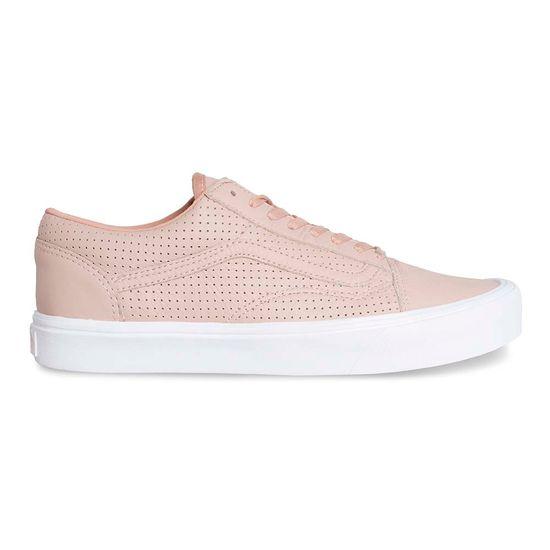 Zapatillas Old Skool Lite Perf Blush Pink True White - Vans 42bffbbfaff
