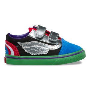 Zapatillas Infant Vans X Marvel Old Skool V Avengers Multi 1bbdd614b64