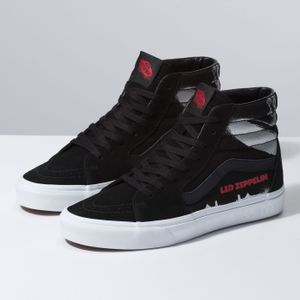 Zapatillas Sk8-Hi de Vans X Led Zeppelin (Led Zeppelin) Black True White ff6125ffdbb