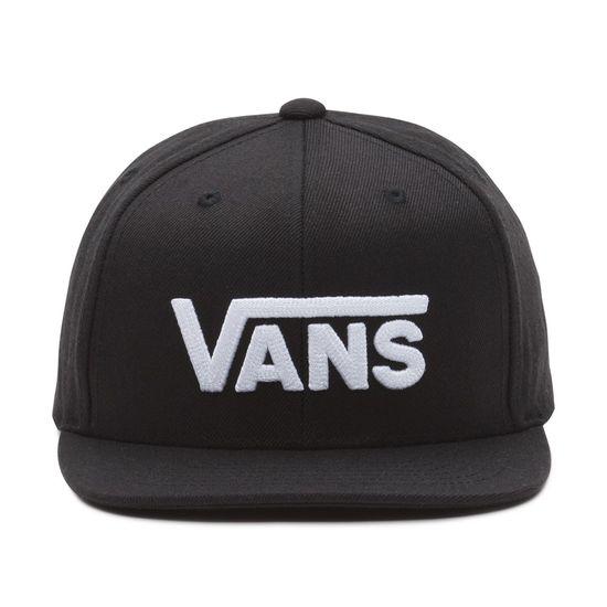 90e65d7b5af61 Gorra Drop V II Snapback Black White - Vans - Vans