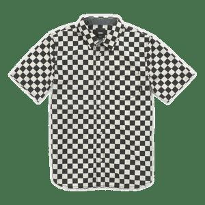 Camisa-Cypress-Checker-Boys-Youth--4-a-12-años--Black-Whitecaps