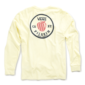 Polera-Vans-X-Pilgrim-Surf---Supply-Apple-Ls--Double-Cream