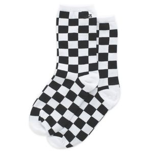 Calcetines-Ticker-Sock-7-10-1Pk-Black-Checkerboard