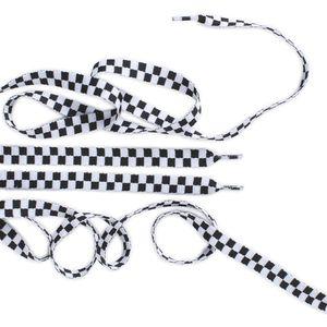 Cordones-Vans-Fat-45--Black-White-Check