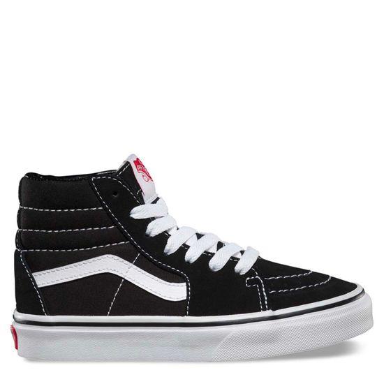 Zapatillas-Niño-Sk8-Hi-Black-True-White