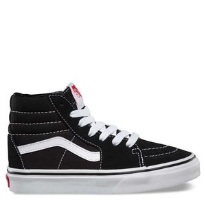 Zapatillas-Niño-Sk8-Hi-Black-True-White