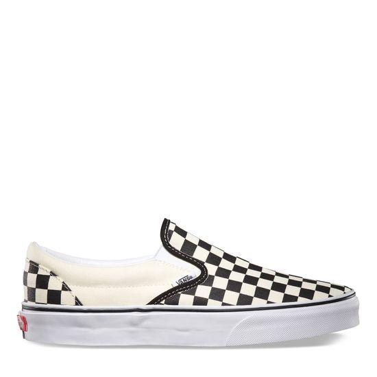 Zapatillas-Classic-Slip-On-Checkerboard-Black-White