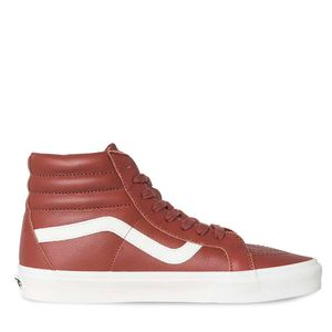 Zapatillas-Sk8-Hi-Reissue-Leather-Burnt-Henna-Blanc-De-Blanc
