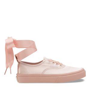 Zapatillas-Niño-Authentic-De-Raso-Con-Cordoneselasticos--Satin-Lace--Heavenly-Pink-Rose-Cloud