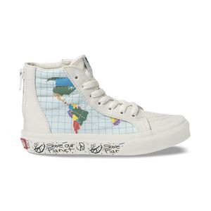 Zapatillas-Youth-Sk8-Hi-Zip--5-a-12-años---Save-Our-Planet--Classic-White-Multi