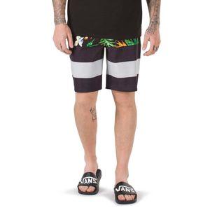 Traje-de-baño-Era-Boardshort-Black-Tropical