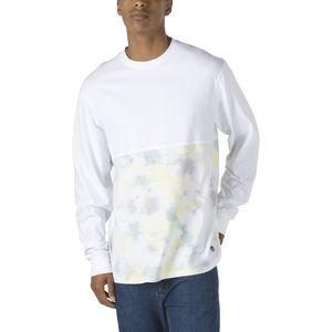 Polera-manga-larga-Elevated-Tie-Dye-White