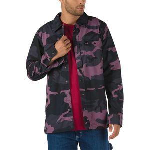 Camisa-Cutler-Oversized-Black-Plum-Camo