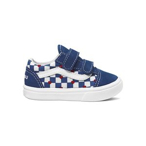 Zapatillas-Td-Comfycush-Old-Skool-V-Toddler--1-4-años---Autism-Awareness--Vans-Heart-True-Blue