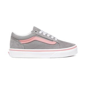 Zapatillas-Uy-Old-Skool-Youth--5-a-12-años---Pop--Frost-Gray-Pink-Icing