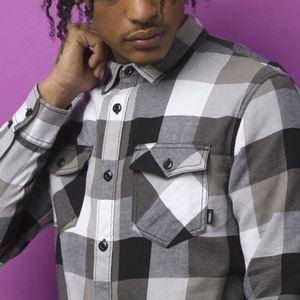 Camisa-Box-Flannel-Black-Frost-Grey