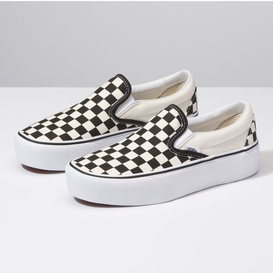 Zapatillas-Classic-Slip-On-Platform-Checkerboard-Black-White