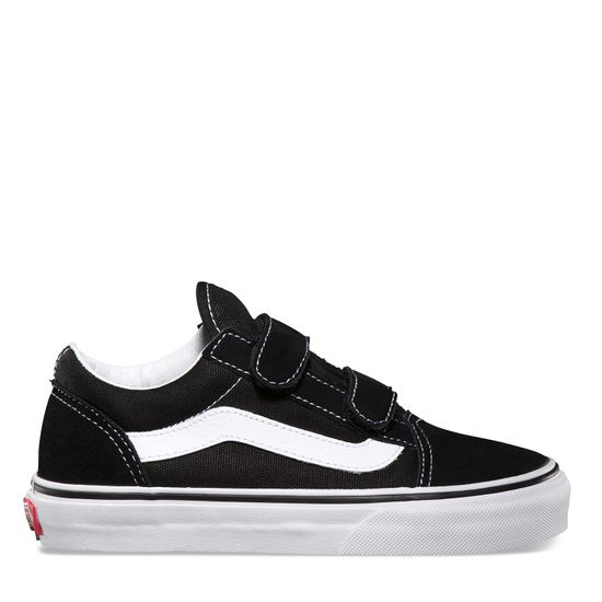 Zapatillas-Niño-Old-Skool-V-Black-True-White