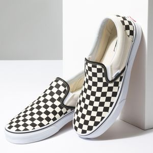 Zapatillas-Classic-Slip-On-Checkerboard-Black-White