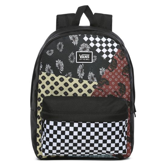 Mochila-Realm-Classic-Backpack-Floral-Patchwork
