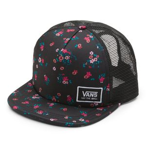 Gorro-Beach-Bound-II-Trucker-Beauty-Floral-Black