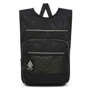 Mochila-Vans-Low-Pro-Backpack-Black-Camo