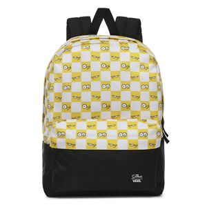 Mochila-Vans-X-The-Simpsons-Check-Eyes-Bckpck--The-Simpsons--Check-Eyes