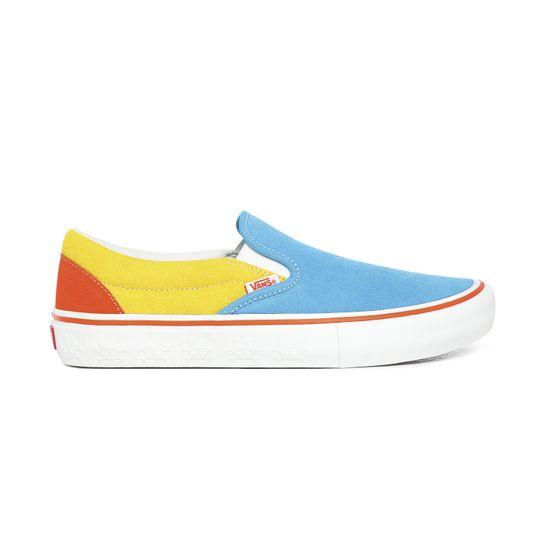 Zapatillas-Slip-On-Pro--The-Simpsons--Blue-Yellow