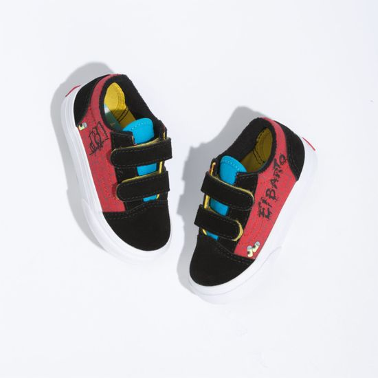 Zapatillas-Old-Skool-V-Toddler--1-4-años---The-Simpsons--El-Barto