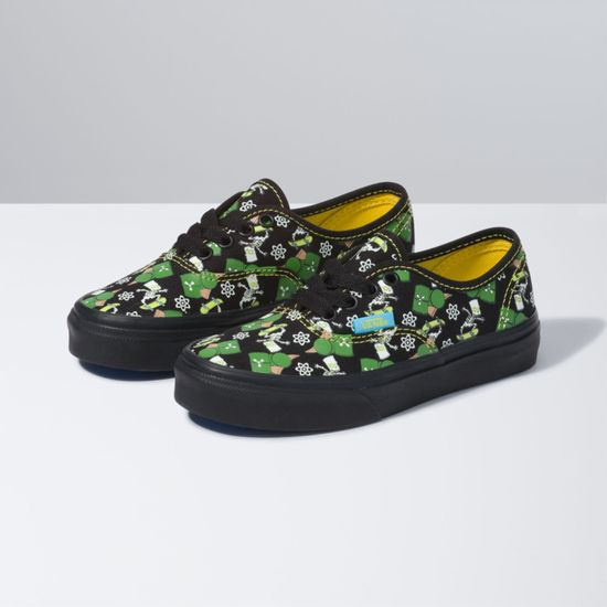 Zapatillas-Authentic-Youth--5-a-12-años---The-Simpsons--Glow-Bart