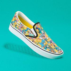 Zapatillas-Comfycush-Slip-On--The-Simpsons--Springfield