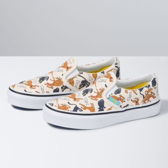 Zapatillas-Classic-Slip-On-Youth--5-a-12-años---The-Simpsons--Family-Pets