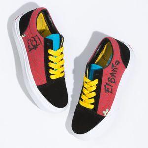Zapatillas-Old-Skool-Youth--5-a-12-años---The-Simpsons--El-Barto