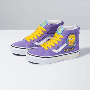 Zapatillas-Sk8-Hi-Zip-Youth--5-a-12-años---The-Simpsons--Lisa-4-Prez