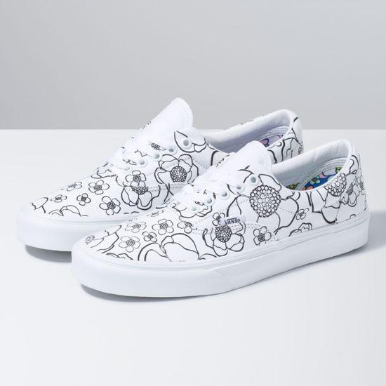 Zapatillas-Era--U-Color--Floral-True-White