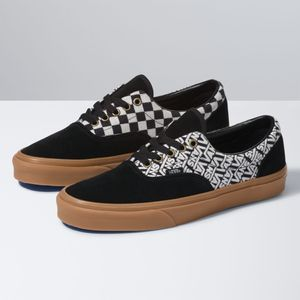 Zapatillas-Era--Vans-Jacquard--Black-Turtledove
