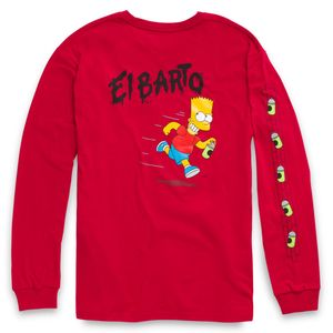Polera-Vans-X-The-Simpsons-El-Barto-Ls--The-Simpsons--El-Barto