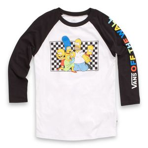 Polera-Vans-X-The-Simpsons-Family-Raglan--The-Simpsons--Family
