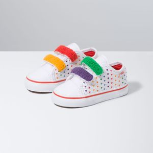 Zapatillas-Style-23-V-Toddler--1-4-años---Chenille--Rainbow-Heart-True-White