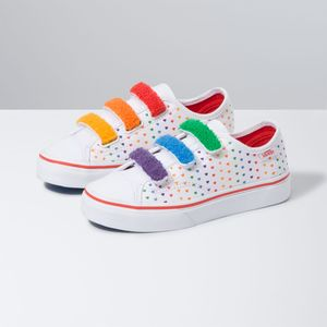Zapatillas-Style-23-V-Youth--5-a-12-años---Chenille--Rainbow-Heart-True-White