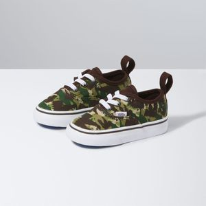 Zapatillas-Td-Authentic-Elastic-Lace-Toddler--1-4-años---Animal-Camo--Brown-True-White